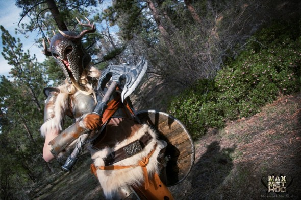 Mind Blowing Skyrim Cosplay02