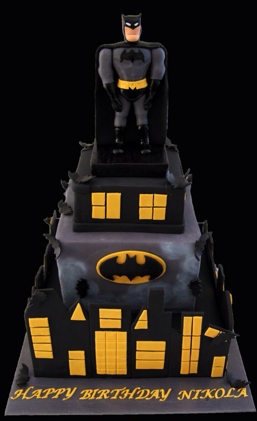 Amazing Batman Birthday Cake