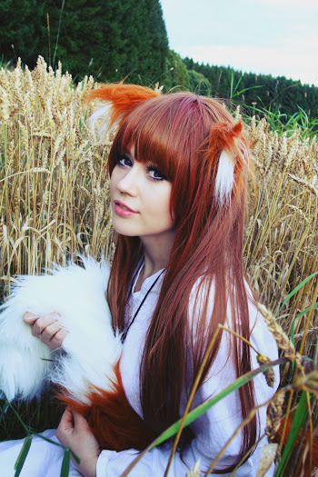 spice and wolf / okami to koshinryo cosplay - horo / holo by tanzoir